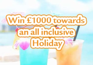 Win £1000 towards an all inclusive holiday