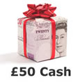 Win £50 today!