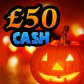 Win £50 Halloween cash