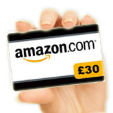 Win £30 Amazon vouchers
