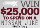 Win a Nissan Juke