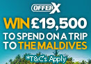 Win a Trip to Maldives