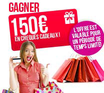 Win €150 Giftcard