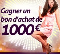 Win Gagner un bon d'achat de 1000€