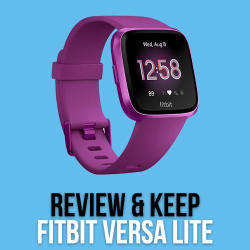 Review a Fitbit Versa Lite