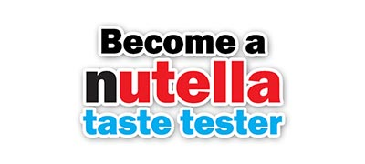 Become a Nutella Taste Tester