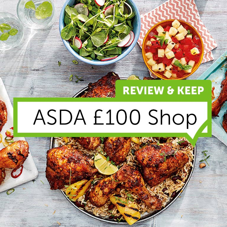 Review Asda With a £100 Shop
