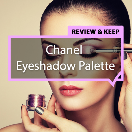 Review a Chanel Eyeshadow palette