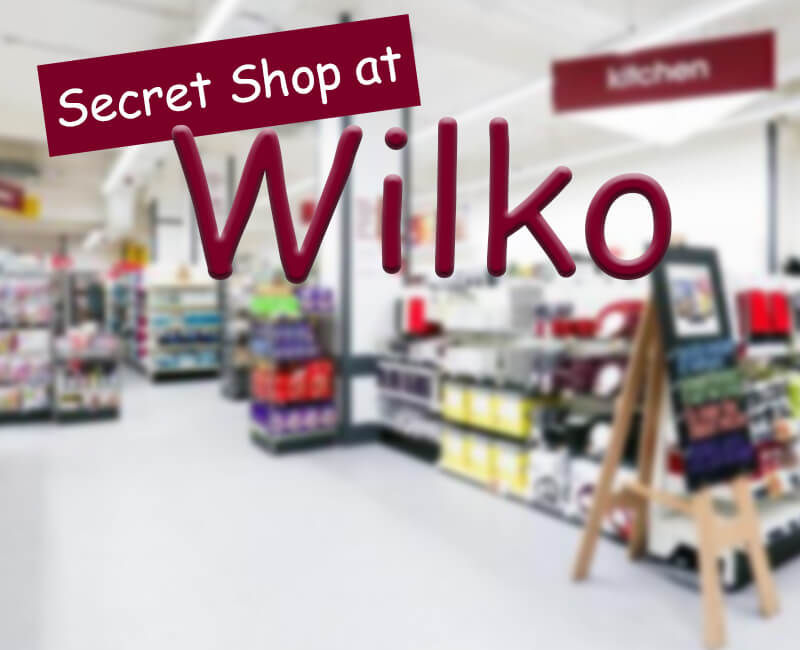 Secret Shop at Wilko