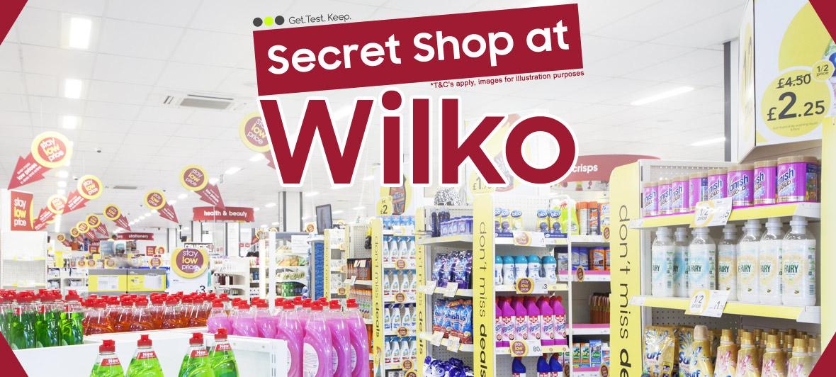 Secret Shop at Wilko