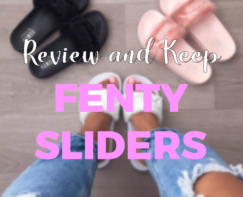 Review Fenty Sliders