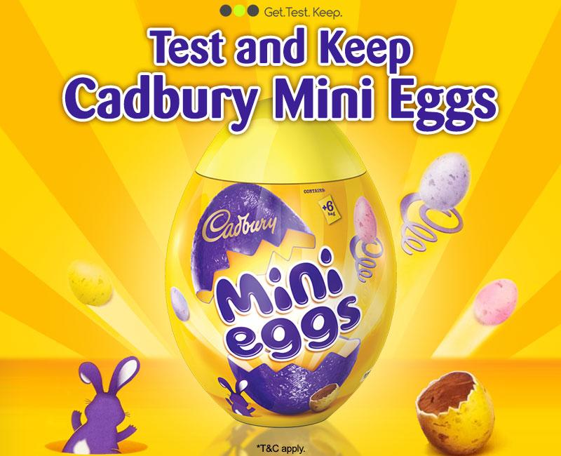 Review Cadbury Mini Eggs