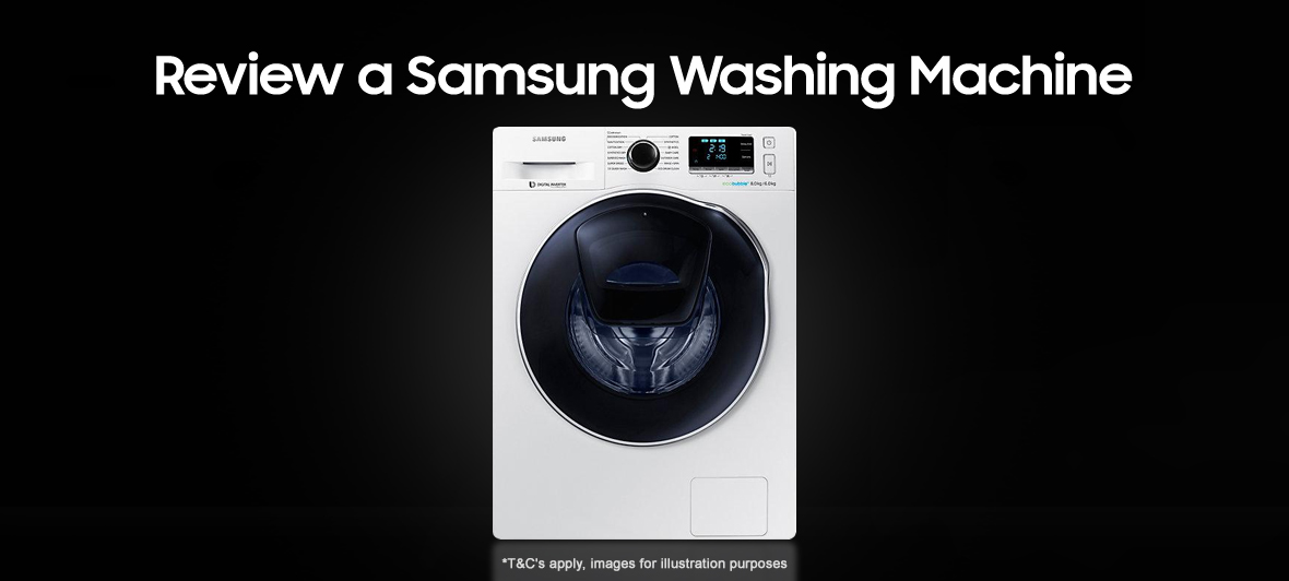Review a Samsung Washing Machine