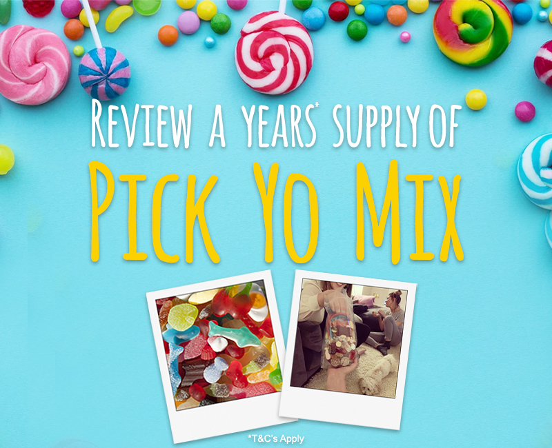 Review Pick Yo Mix