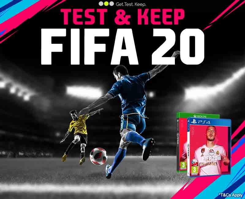 Test & Keep FIFA 20
