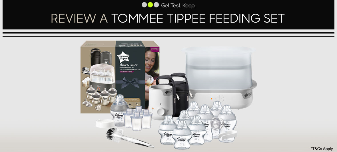 Review a Tommee Tippee Feeding Set