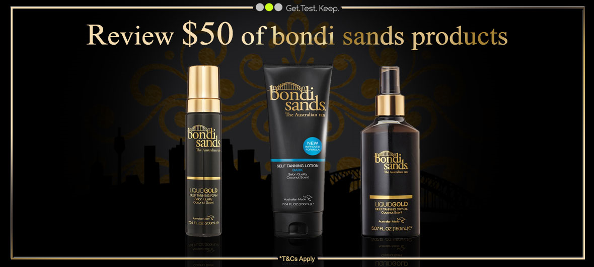 Review $50 of Bondi Sands products