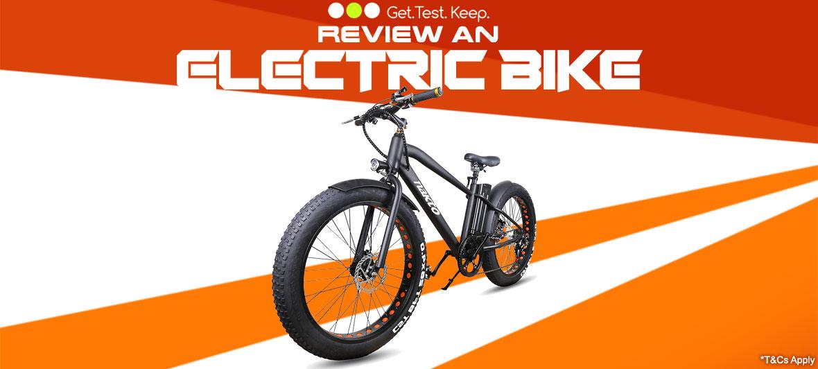 Review An Electric Bike