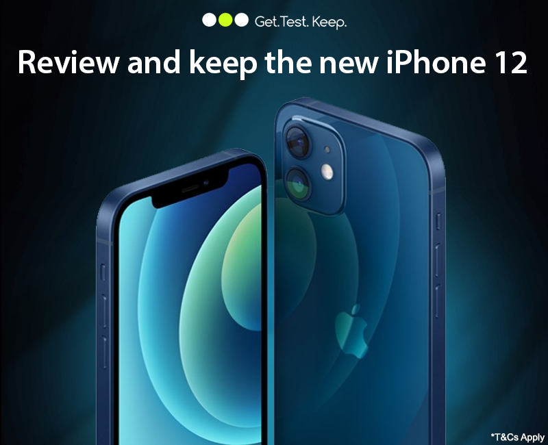 Review & Keep the iPhone 12