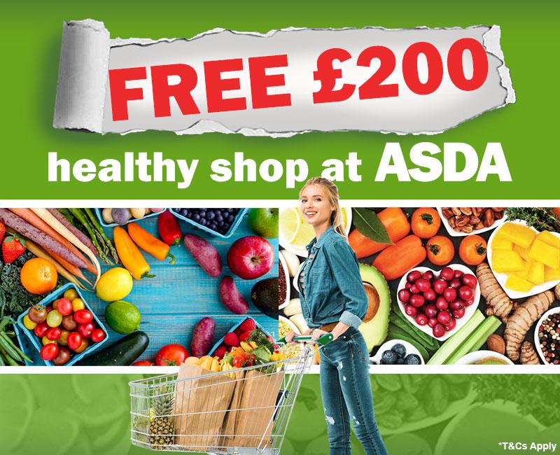 FREE £200 Healthy Shop at Asda