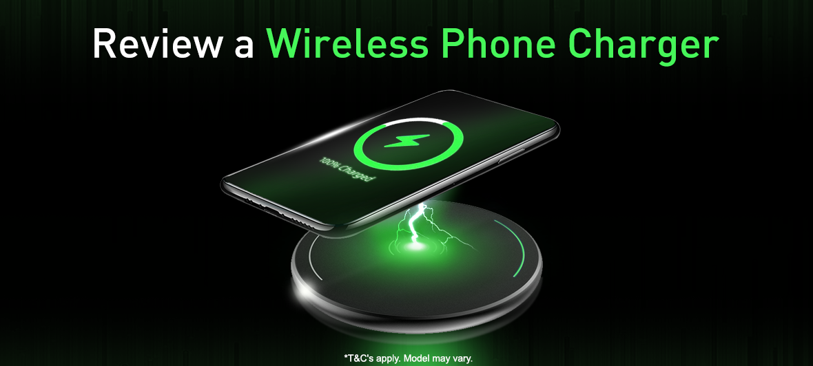 Review a Wireless Phone Charger