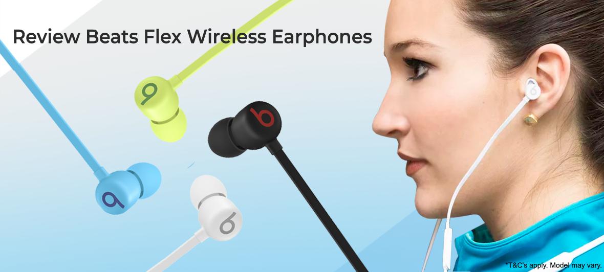 Review Beats Flex Wireless Earphones