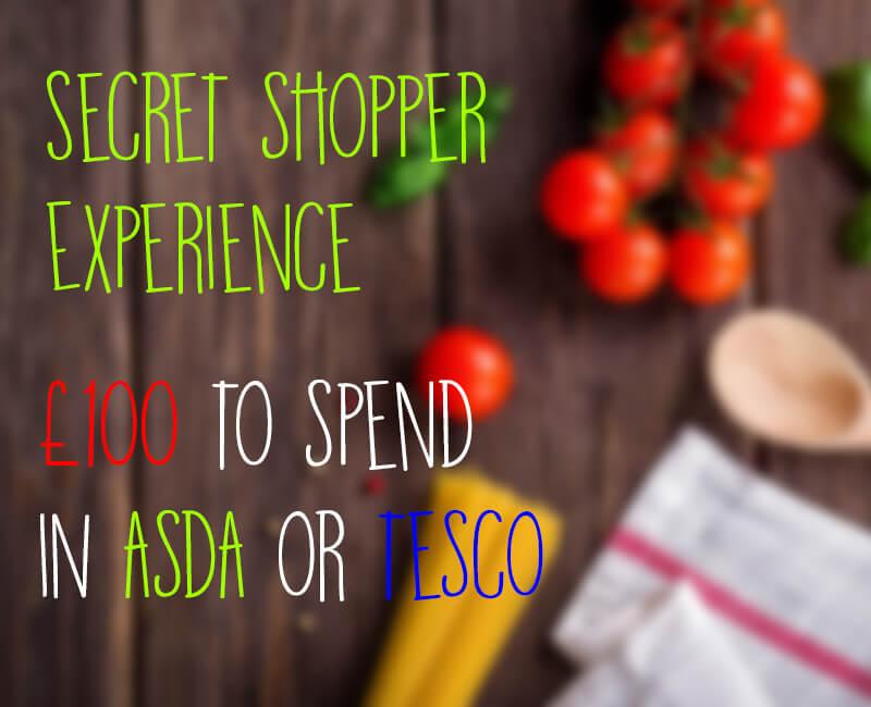 Be a Secret Supermarket Shopper at Tesco, ASDA, Morrisons, Sainsbury's
