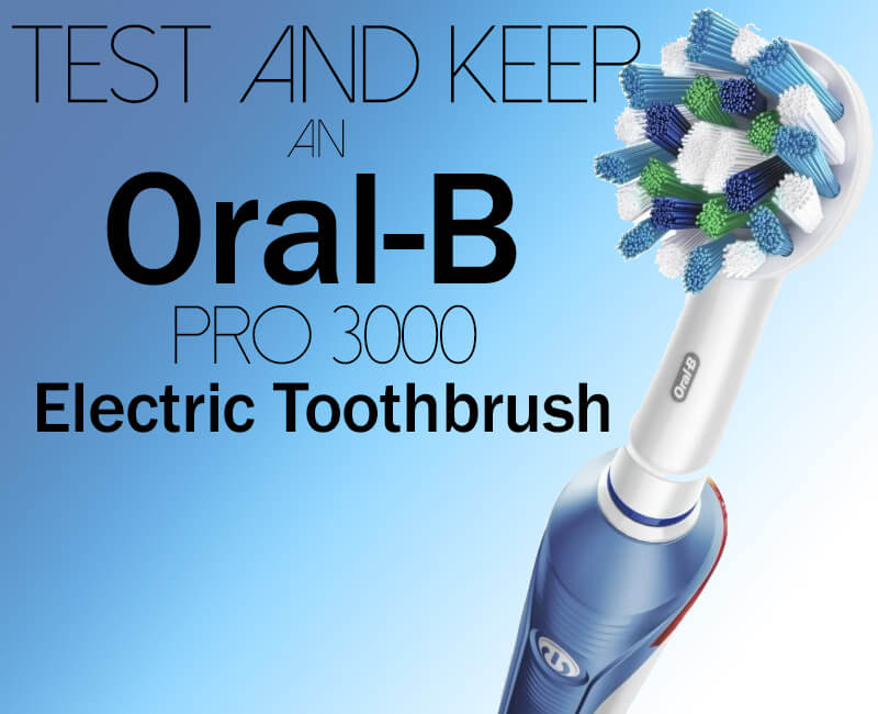 Review an Oral-B Electric Toothbrush