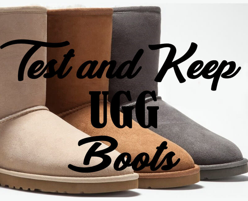 Review a pair of UGG boots