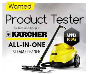 Test and review a Karcher Steam Cleaner
