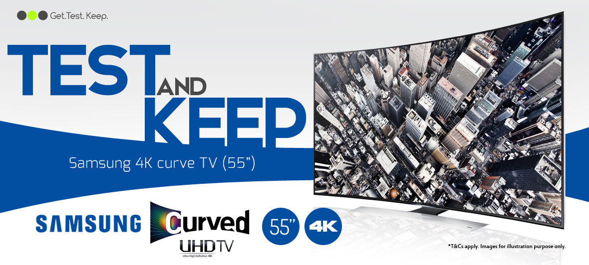 Review a Samsung 4K Curve 55 inch TV