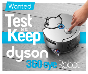 Test, Review and Keep a Dyson 360 Eye