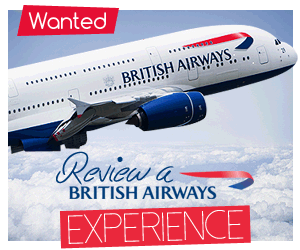 Review a British Airways Experience