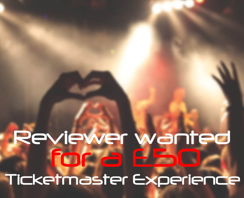 Review £50 Ticketmaster Experience