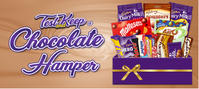 Test and Keep a Chocolate Hamper