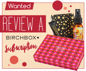 Review a Birchbox Subscription
