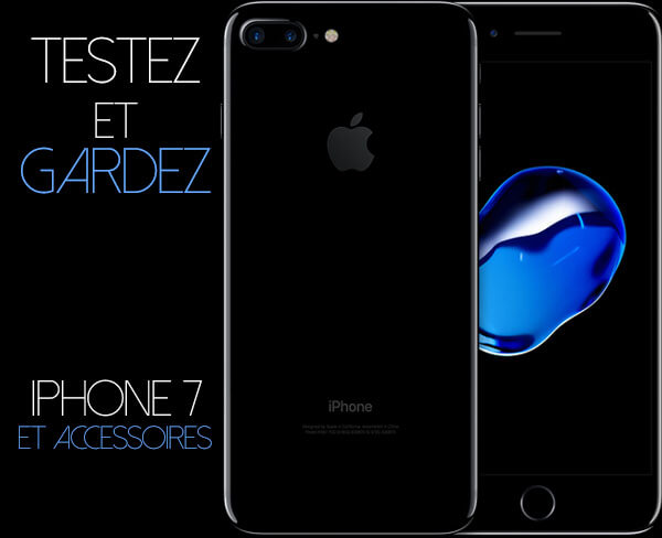 Evaluer un Iphone7 plus Airpods