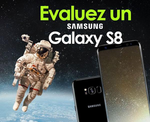 Evaluez un Smartphone Samsung S8 Edge