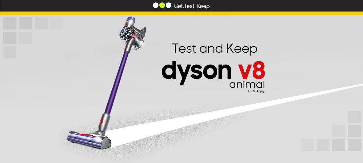 Test a Dyson V8