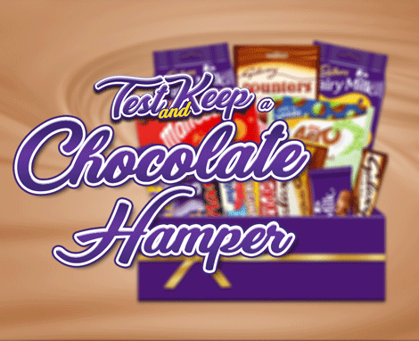 Review a Cadbury Hamper