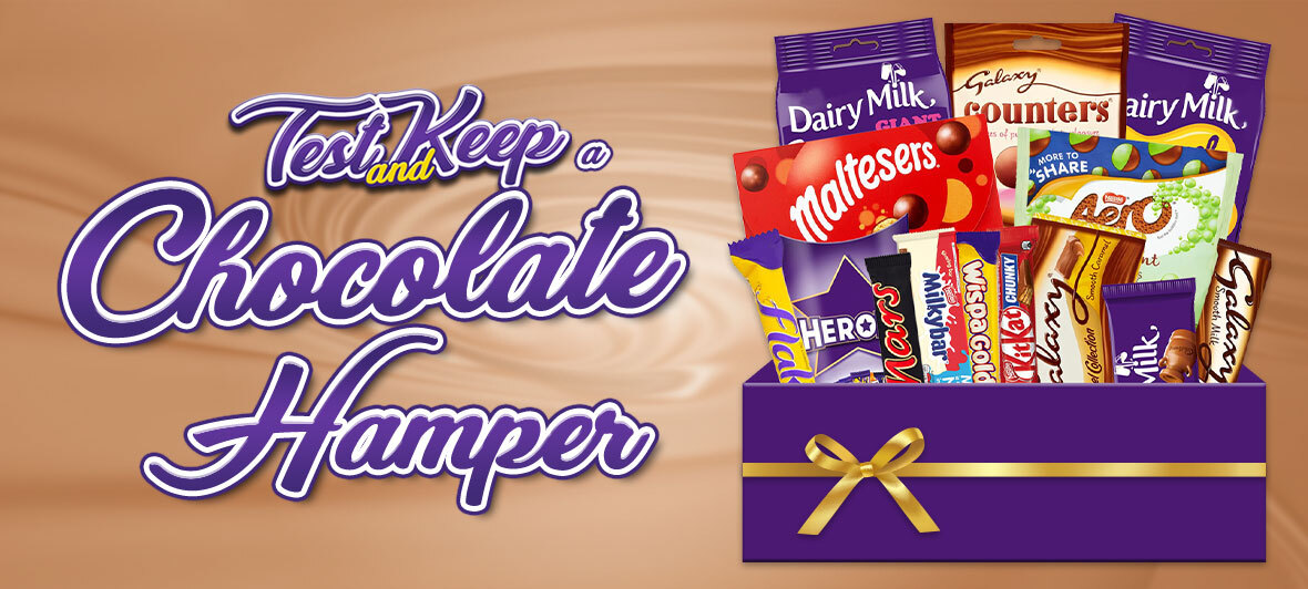 Review a Cadbury Hamper