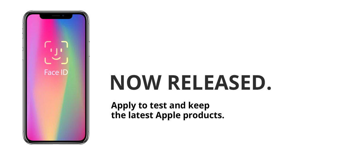 Test and keep an iPhone X