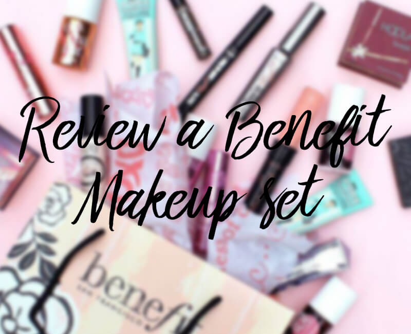 Win a Benefit Make-Up Set