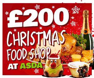 Win a ASDA Christmas Shop