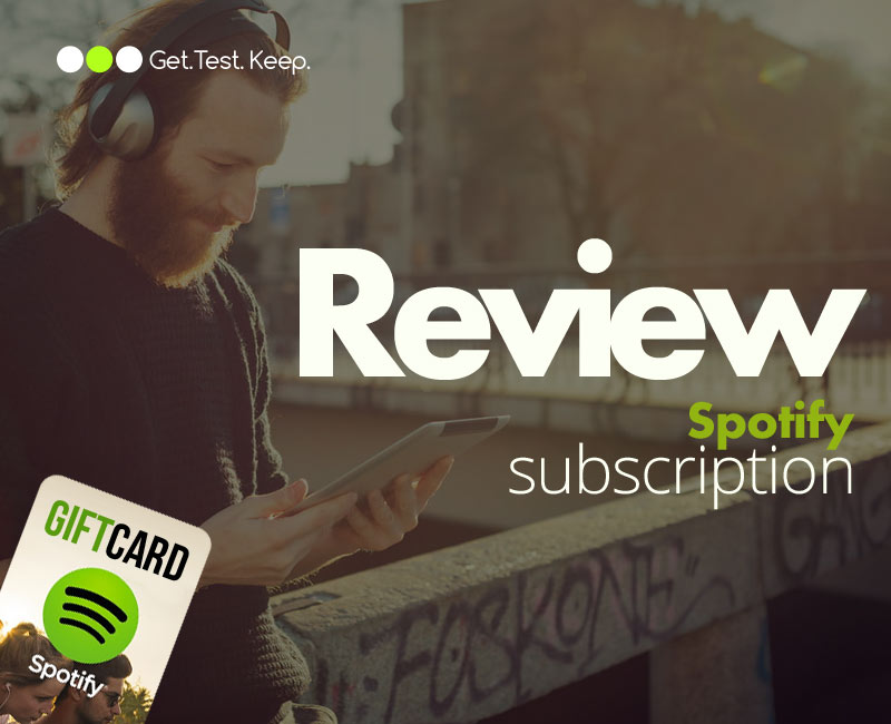 Review a Spotify Subscription