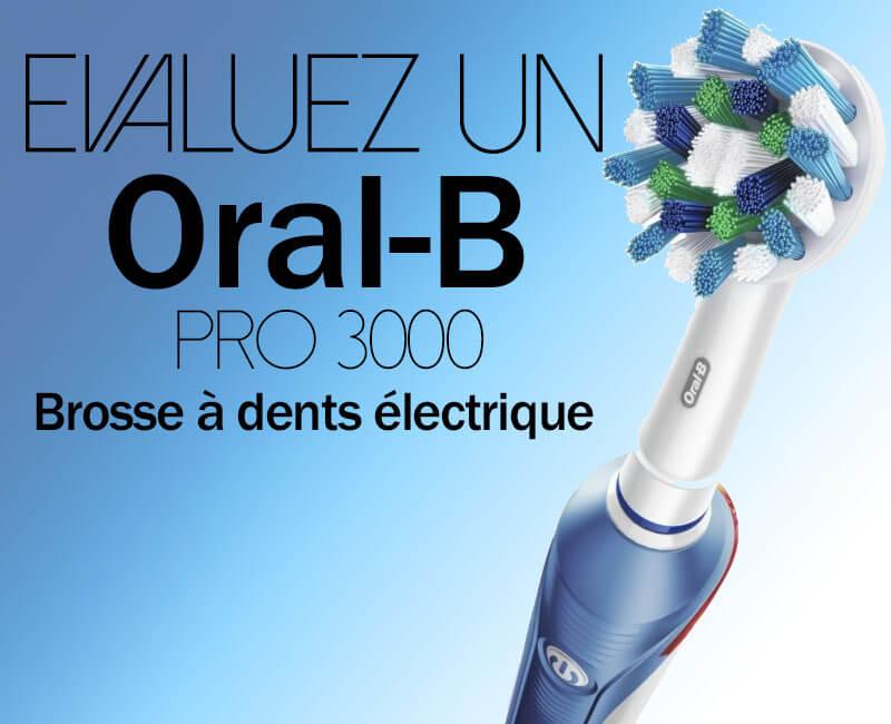 Gagner Brosse à dents électrique Oral-B