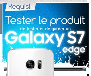 Evaluez un Smartphone Samsung S7 Edge
